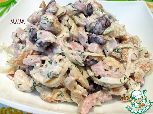 "Канапе ""Копчёная курица на персиках"" – кулинарный рецепт"