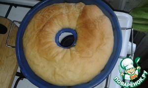 Выпекать тортано при 190-200 градусах около 30 минут