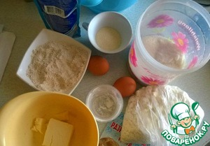 Подготовим ингредиенты:
