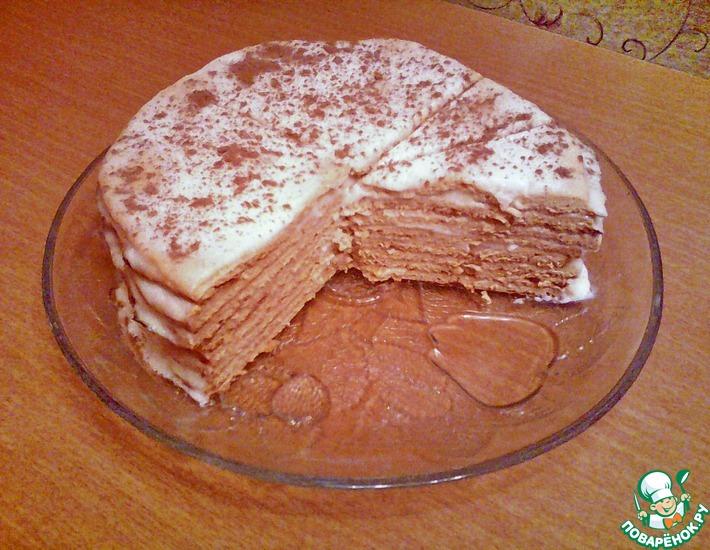 Рецепт: Торт Наташа