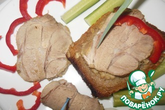 Рецепт: Мясо в хлебе