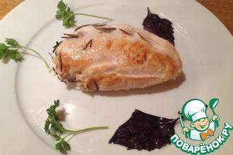 Рецепт: Фаршированные куриные грудки