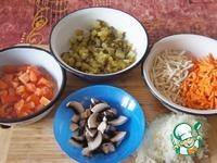 Рассольник Комаринский с фрикадельками ингредиенты