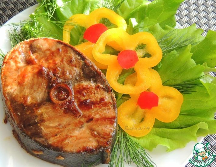Рецепт: Тунец в остро-сладком маринаде