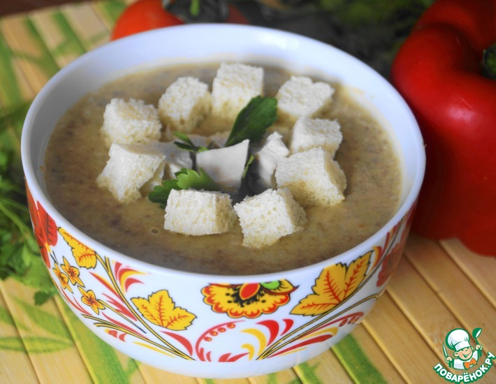 Рецепт: Суп-пюре из чечевицы