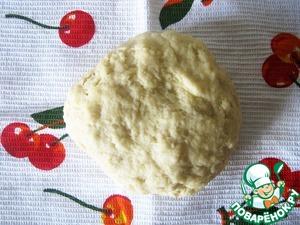 Замесить тесто и оставить его в тёплом месте на 2,5 часа.