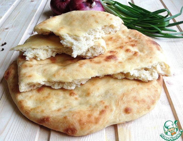 Рецепт: Настоящий грузинский лаваш