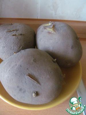 3. Boil potatoes in their skins