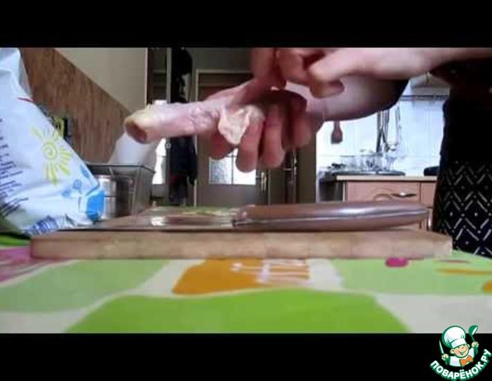 Рецепт: Запеченные куриные голени в кефире