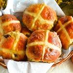 Английские пасхальные булочки Крестовые