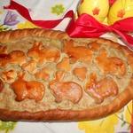 Картофельно-мясной пирог к Пасхе