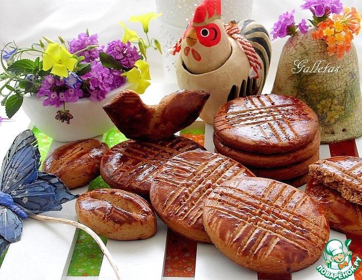 Рецепт: Медовое печенье со специями
