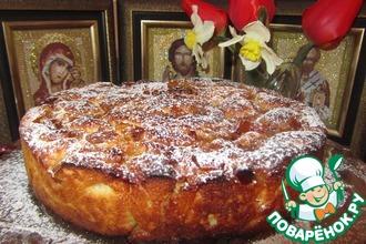 Рецепт: Пасхальный яблочный пирог