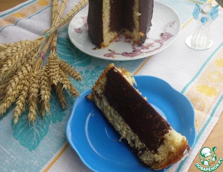 Рецепт: Королевский панеттоне с шоколадом