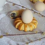 Пасхальные булочки-подставки для яиц Маковая роса
