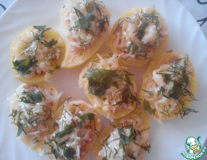 Рецепт: Картофельные гнезда