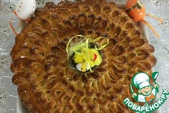 Рецепт: Пасхальный пирог Кудряш