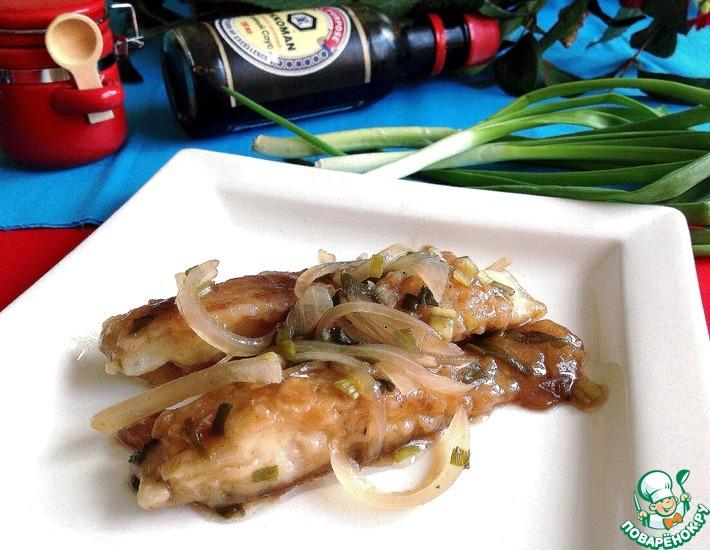 Рецепт: Рыба в быстром пикантном маринаде