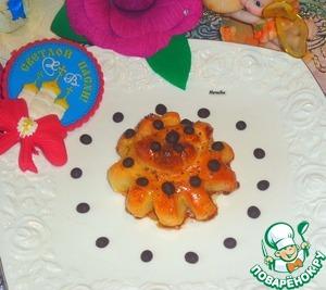 Рецепт Медовые булочки-цветочки