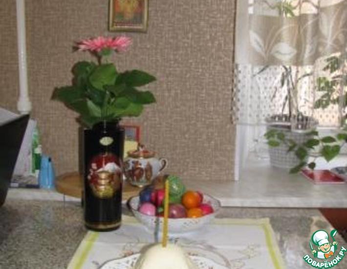 Рецепт: Творожная пасха по монастырскому рецепту
