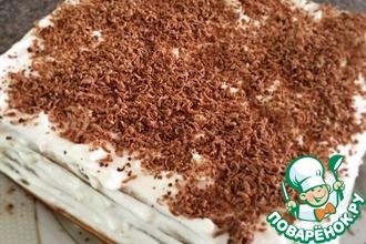 Рецепт: Торт творожный из мацы