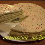 Диетический торт Нежность по Дюкану