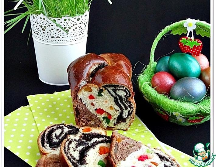 Рецепт: Плетенка Праздничная