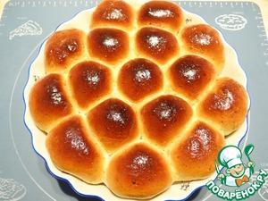 Выпекаю булочки в разогретой до 210-220 градусов духовке до золотистого цвета. Приятного Вам аппетита!