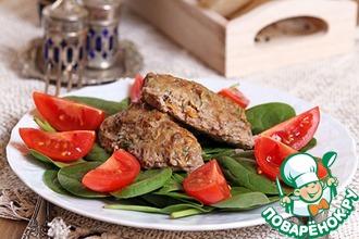 Рецепт: Духовые котлеты из баранины с овощами