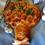 Пасхальный хлеб Цветущее дерево