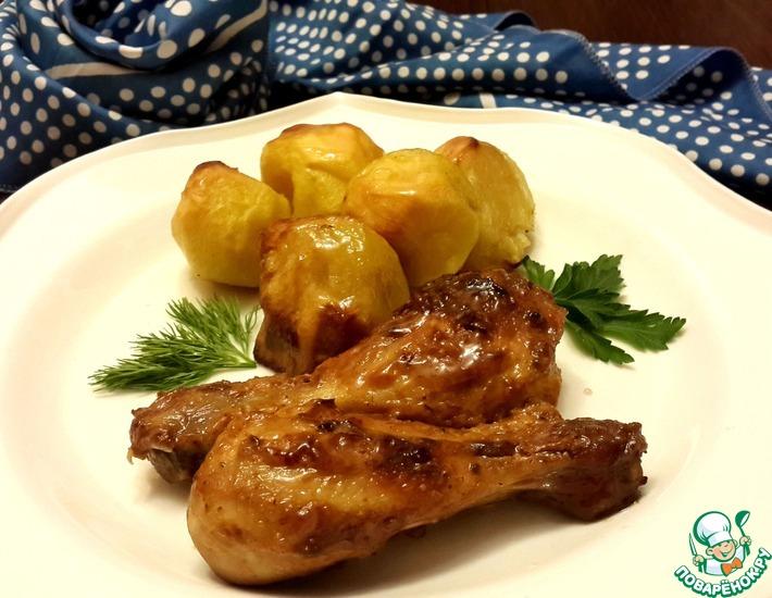 Рецепт: Курица Из советского детства