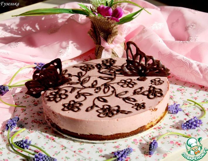 Рецепт: Легкий тортик-суфле