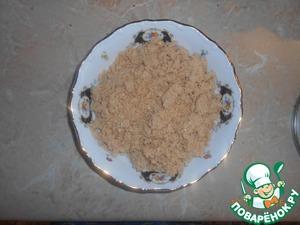 Проваренную фасоль измельчаем в блендере можно и с помощью мясорубки.