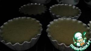 Формы смазать сливочным маслом, выложить тесто и выпекать 15-20 минут или до золотисто-коричневого цвета при температуре 180 градусов.