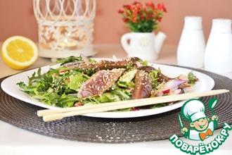 Рецепт: Тайский салат с говядиной