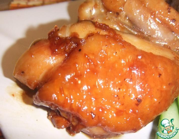 Рецепт: Курица в сахаре