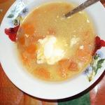 Суп с помидорами Оранжевое настроение
