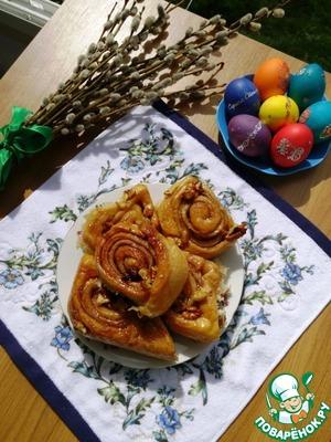 Наслаждайтесь и балуйте родных и любимых! Количество булочек от 20 до 28 штук в зависимости от того как вы раскатаете тесто.
