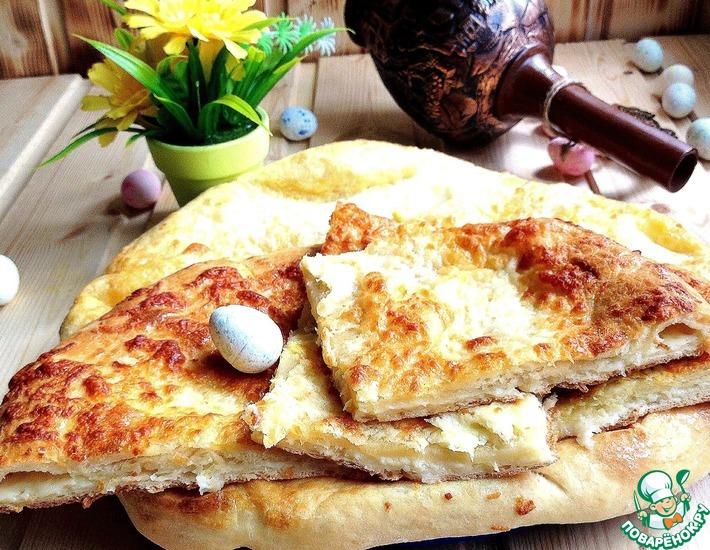 Рецепт: Настоящий грузинский хачапури