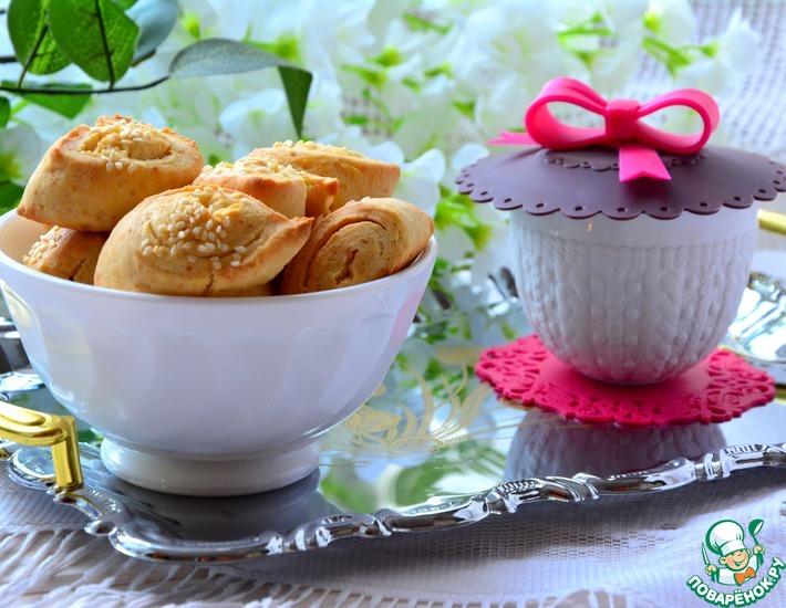 Рецепт: Печенье из плавленных сырков