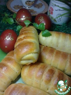 Рецепт Закусочные булочки с плавленым сыром