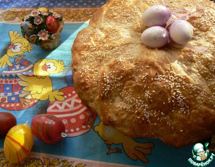 Рецепт: Пасхальный хлеб по-итальянски