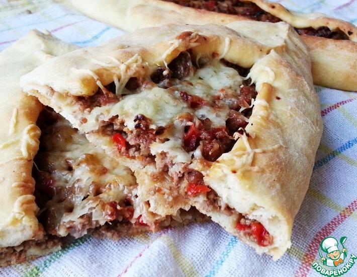 Рецепт: Турецкие пиде с сыром