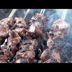 Шашлык из докторского мяса