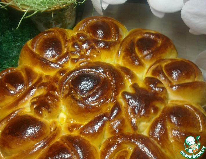 Рецепт: Пирог с джемом Бутоны роз