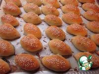 Пирожки-малышки печеночно-сердечные ингредиенты