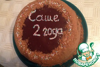 Рецепт: Торт Циелавиня