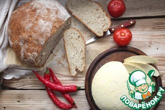 Рецепт: Сыр по-словацки и хлеб на сыворотке