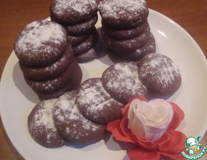 """Печенье """"Шоколадно-малиновое"""""""