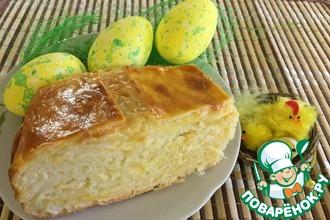 Рецепт: Пирог пасхальный Сырный